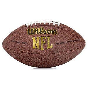 Bola Oficial NFL Super Grip Futebol Americano - Wilson