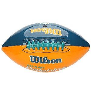 Bola Futebol Americano Miami Dolphins - Wilson