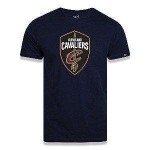 Camiseta New Era Cleveland Cavaliers Basic Logo NBA Azul