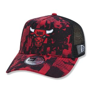Boné New Era Chicago Bulls 940 Error Print NBA Aba Curva