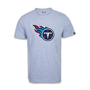 Camiseta New Era Tennessee Titans Logo Time NFL Cinza