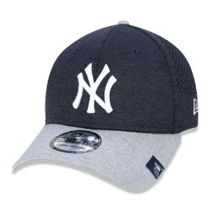 Boné New Era New York Yankees 3930 Perftech MLB Aba Curva