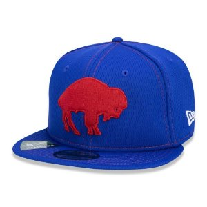 Boné New Era Buffalo Bills 950 Sideline Road Retro Aba Reta