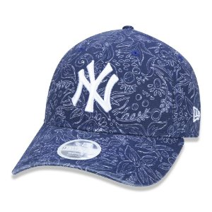 Boné New Era New York Yankees 920 Perfect Print Roxo Woman