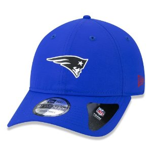 Boné New Era New England Patriots 920 Neon Id Light Azul