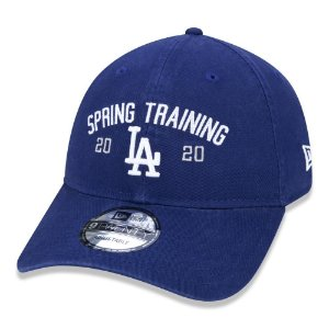 Boné New Era Los Angeles Dodgers 920 Marched Azul Aba Curva