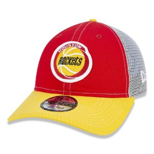 Boné New Era Houston Rockets 920 Netback Aba Curva Vermelho