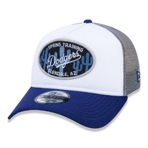 Boné New Era Los Angeles Dodgers Trucker 940 Spring Training