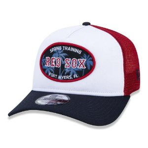 Boné New Era Boston Red Sox 940 Spring Training Aba Curva