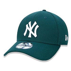 Boné New Era New York Yankees 3930 Basico Green Aba Curva