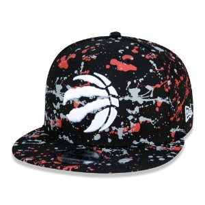 Boné New Era Toronto Raptors 950 Paint Splatter Aba Reta