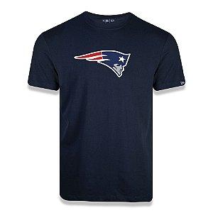 Camiseta New Era New England Patriots Logo Time NFL Azul