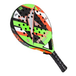 Raquete De Padel Drop Shot Topic 1.0 Fibra De Carbono