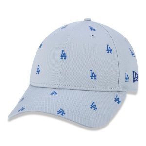 Boné New Era Los Angeles Dodgers 940 Injection Luxe Cinza