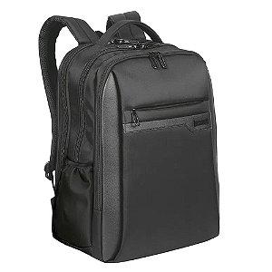 Mochila Sestini Laptop Slim Prime 3 Compartimentos Preto