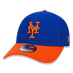 Boné New Era New York Mets 940 Team Color Aba Curva Azul MLB