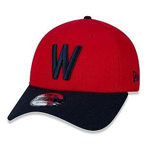 Boné New Era Washington Senators 940 Team Color Aba Curva
