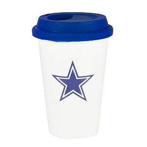 Copo de Café em Cerâmica Dallas Cowboys - NFL
