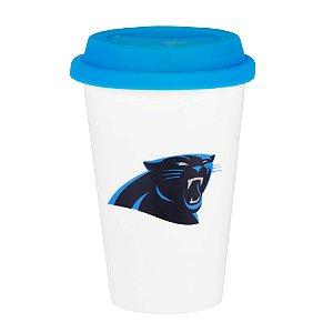 Copo de Café em Cerâmica Carolina Panthers - NFL