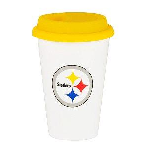 Copo de Café em Cerâmica Pittsburgh Steelers - NFL