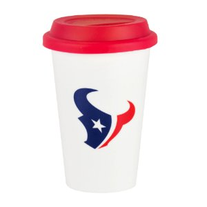 Copo de Café em Cerâmica Houston Texans - NFL