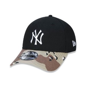 Boné New Era New York Yankees 940 Desert Camo Visor