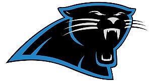 Adesivo Carolina Panthers NFL - Vinil Brilho 15x8cm