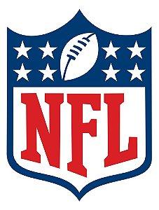 Adesivo Logotipo NFL - Vinil Brilho 12x15cm