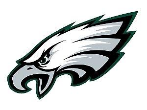 Adesivo Philadelphia Eagles NFL - Vinil Brilho 15x11cm