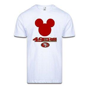 Camiseta NFL San Francisco 49ers Mickey Disney Branco