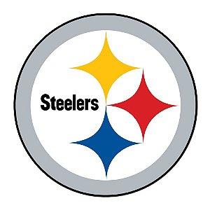 Adesivo Pittsburgh Steelers NFL - Vinil Brilho 15x15cm