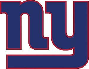 Adesivo New York Giants NFL - Vinil Brilho 15x12cm