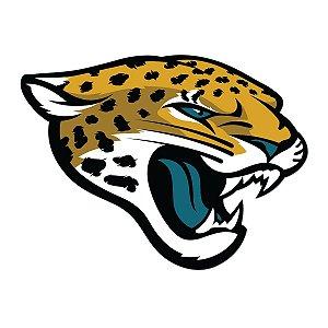 Adesivo Jacksonville Jaguars NFL - Vinil Brilho 15x11cm