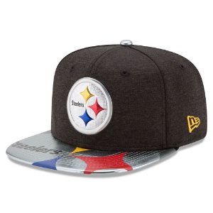 Boné Pittsburgh Steelers DRAFT 2017 On Stage Snapback - New Era