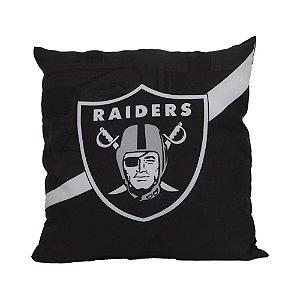 Almofada Las Vegas Raiders NFL Big Logo Futebol Americano