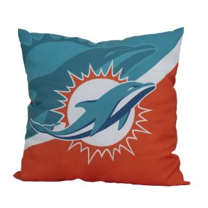 Almofada Miami Dolphins NFL Big Logo Futebol Americano