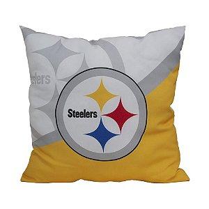 Almofada Pittsburgh Steelers NFL Big Logo Futebol Americano