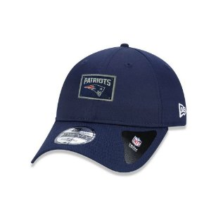 Boné New Era New England Patriots 940 Urban Label Aba Curva