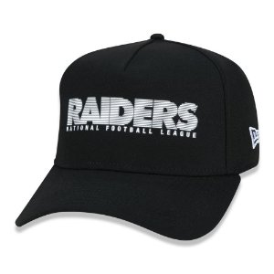 Boné New Era Las Vegas Raiders 940 Urban Stripe Aba Curva