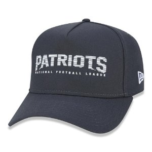 Boné New Era New England Patriots 940 Urban Stripe Aba Curva