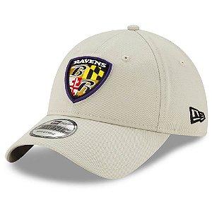 Boné New Era Baltimore Ravens 920 Shield Playmaker Aba Curva