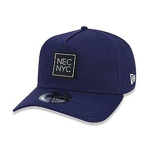 Boné New Era 940 A-Frame SN Veranito NYC Azul Aba Curva