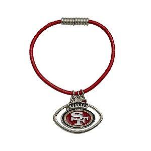 Pulseira San Francisco 49ers NFL C/ Pingentes Metálicos