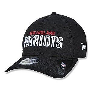 Boné New Era New England Patriots 3930 Draft Font Aba Curva