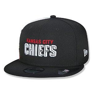 Boné New Era Kansas City Chiefs 950 Draft Font Aba Reta