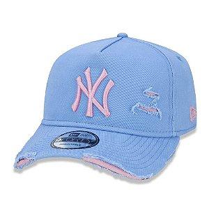Boné New Era New York Yankees 940 Damage Destroyed Aba Curva