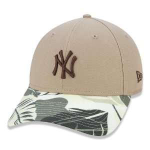 Boné New Era New York Yankees 940 Summer Tropical Aba Curva