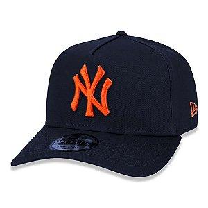 Boné New Era New York Yankees 940 AF Veranito Azul e Laranja