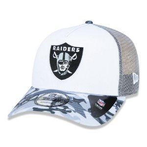 Boné New Era Las Vegas Raiders 940 A-Frame Military Full