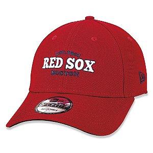 Boné New Era Boston Red Sox 940 College Est.1901 Aba Curva